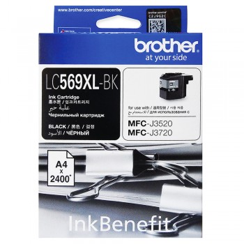 Brother LC-569XL Black Ink Cartridge