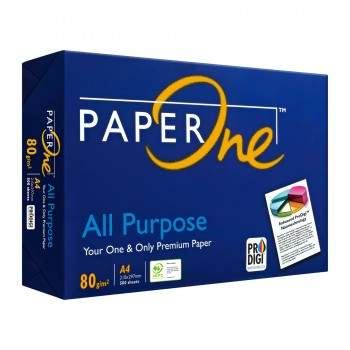 PaperOne All Propose Paper 80gsm - A4 size - 1 ream - 500 sheets