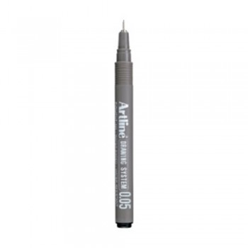 Artline Black Drawing System Pen 0.05mm (EK-2305)