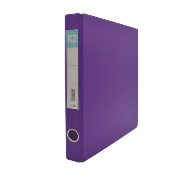L125 25mm 2D Glue Ring File A4 - Fancy Purple